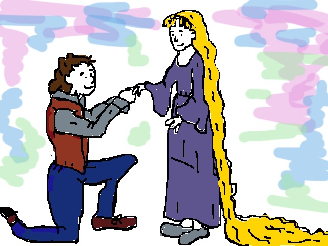 Rapunzel and prince